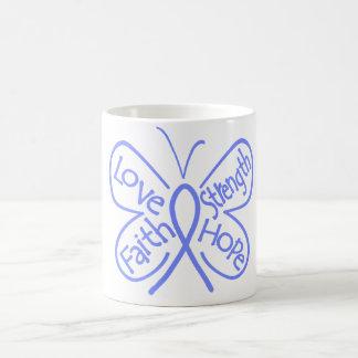 Pulmonary Hypertension Butterfly Inspiring Words Coffee Mug
