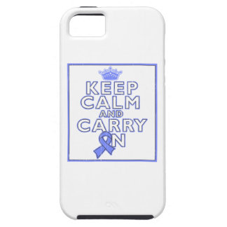 Pulmonary Hypertension Keep Calm and Carry ON iPhone 5 Cases
