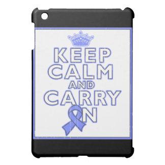 Pulmonary Hypertension Keep Calm and Carry ON iPad Mini Cases
