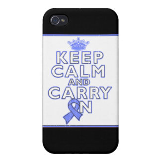 Pulmonary Hypertension Keep Calm and Carry ON iPhone 4 Cover