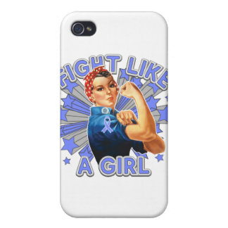 Pulmonary Hypertension Vintage Rosie Fight iPhone 4 Cover