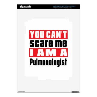 Pulmonologist scare designs skin for iPad 3