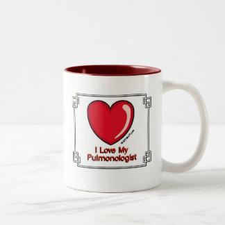 Pulmonologist Two-Tone Coffee Mug