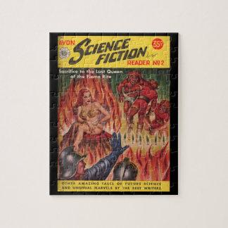 _Pulp AR del lector 02 de la ciencia ficción de Puzzle