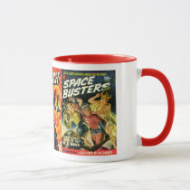 Pulp Art Sci-Fi Mug