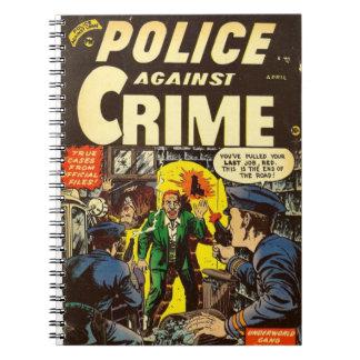 Pulp Comic Notebook