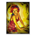 """""""Pulp Cover"""" Lana Turner Card"""