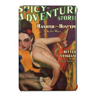 Pulp magazine spicy adventure stories femme fatale iPad mini cover