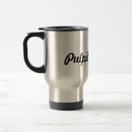 Pulpit Supply Travel Mug