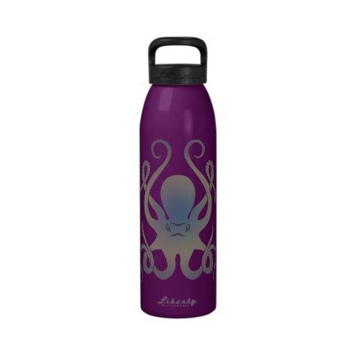 Pulpo Botella De Agua