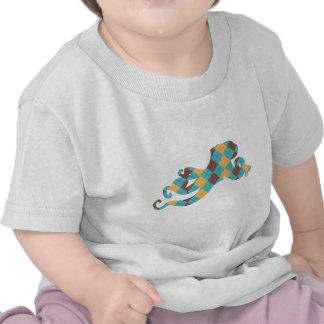 Pulpo azul y amarillo de Argyle Camiseta