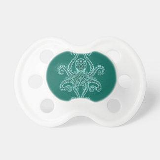 Pulpo complejo del azul del trullo chupetes para bebés