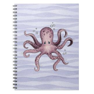 Pulpo - cuaderno