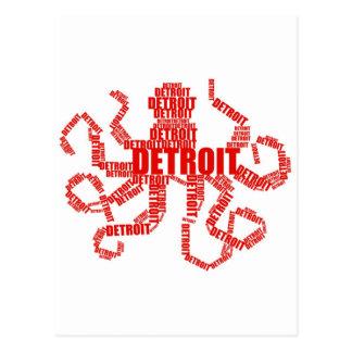 Pulpo de Detroit Postal