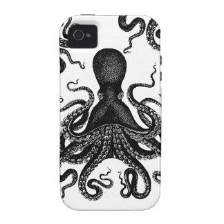 Pulpo de Kraken iPhone 4 Funda
