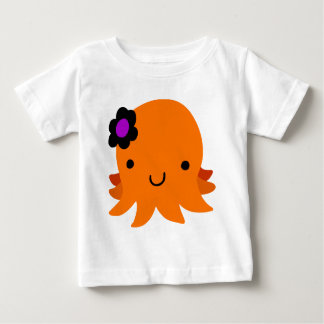 Pulpo de la flor de Halloween Camisas