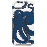 Pulpo de los azules marinos iPhone 5 Case-Mate protector