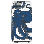 Pulpo de los azules marinos funda para iPhone 6 tough