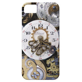 Pulpo de oro de Pocketwatch - tiempo de Kraken Funda Para iPhone SE/5/5s