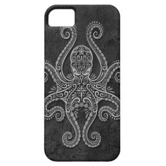 Pulpo de piedra oscuro complejo funda para iPhone SE/5/5s