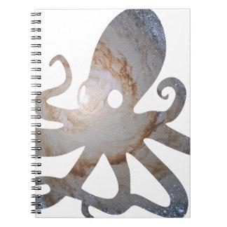Pulpo del espacio cuaderno