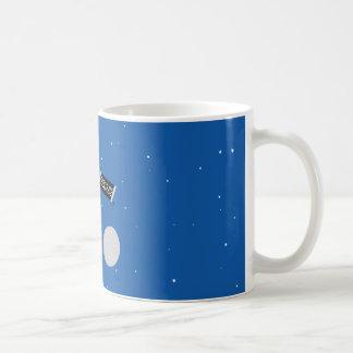 pulpo del espacio taza de café