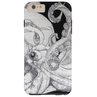 Pulpo del mar profundo funda para iPhone 6 plus tough