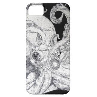 Pulpo del mar profundo iPhone 5 fundas