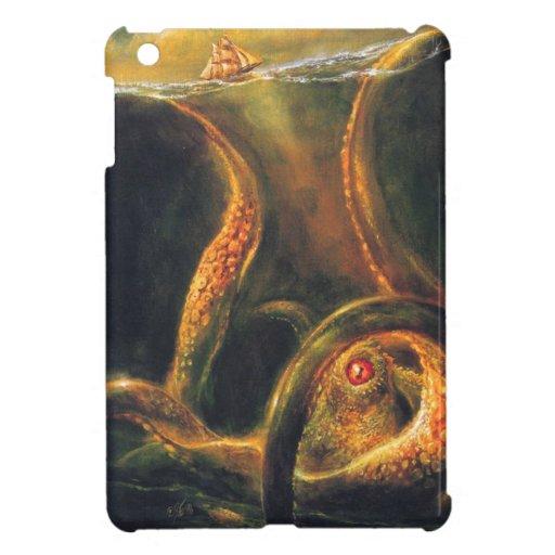 Pulpo del monstruo iPad mini cárcasa