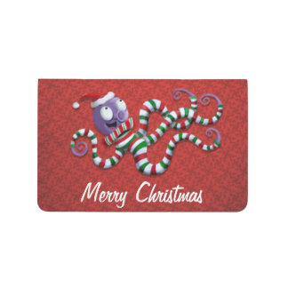 Pulpo del navidad con las rayas