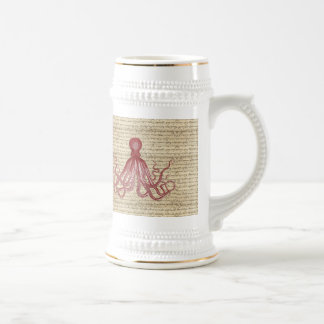 Pulpo del vintage tazas de café