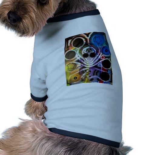 Pulpo DJ V1 Camiseta Con Mangas Para Perro