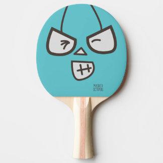 Pulpo enmascarado - hola pala de tenis de mesa