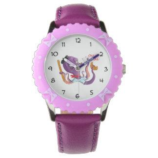 Pulpo francés reloj