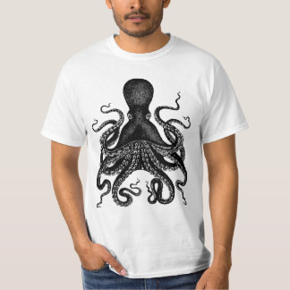Pulpo gigante - 20.000 camisetas de Kraken de las Poleras