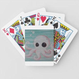 Pulpo lindo baraja cartas de poker