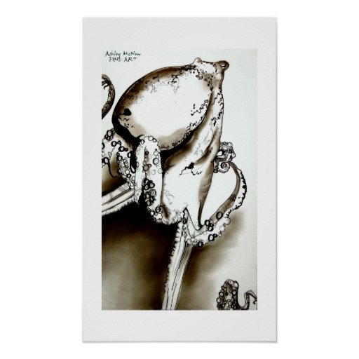 Pulpo Posters
