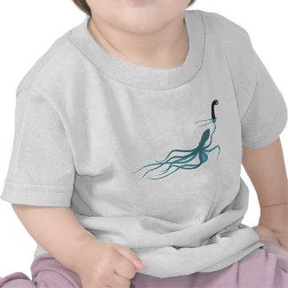 Pulpo que falsifica Loch Ness Camisetas