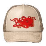 Pulpo rojo gorra