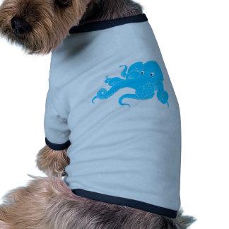 Pulpo Camisetas De Perro