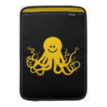 Pulpo/smiley amarillo de Kraken Funda Macbook Air