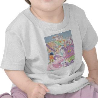 Pulpo y amigos camisetas