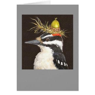 pulsación de corriente con la tarjeta del gorra de