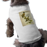 pulsación de corriente Corazón-manchada Camisetas De Mascota