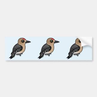 Pulsación de corriente de Birdorable el Gila Etiqueta De Parachoque