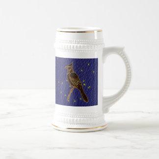 Pulsación de corriente del zodiaco del nativo jarra de cerveza