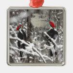 Pulsación de corriente en invierno ornamentos de reyes magos