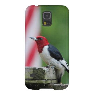 pulsación de corriente Rojo-dirigida Carcasa De Galaxy S5