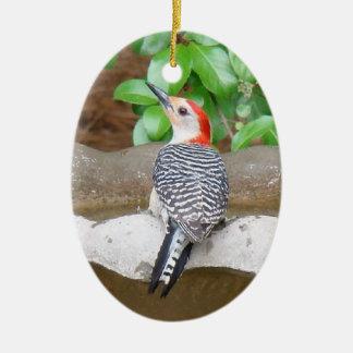 pulsación de corriente Rojo-hinchada Ornamento Para Arbol De Navidad
