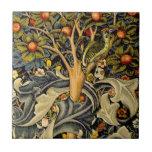 Pulsaciones de corriente de William Morris del Azulejo Cuadrado Pequeño